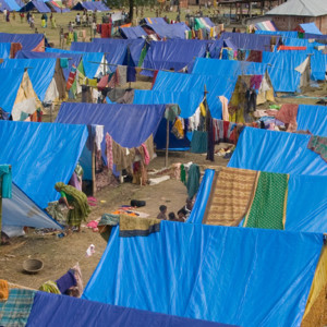 IDP Camp in Nepal