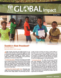 Global Impact Spring 2016 Issue