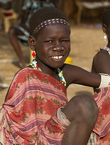 Woman in South Sudan