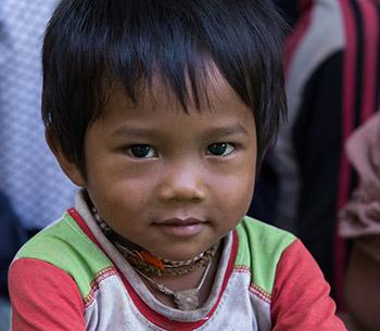 Boy in Cambodia