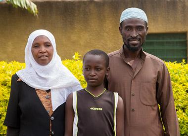 Mariam Uwimana and Husband