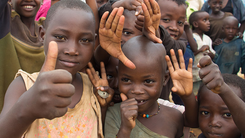 Refugee Children from Burundi