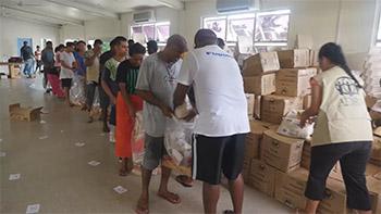 Food Distribution in Fiji