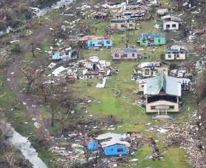 Aftermath of Cyclone Winston
