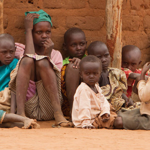 Children in Kenya Hungry from Drought