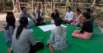 Woman's Group in Cambodia
