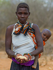 Mother and Baby in Kenya