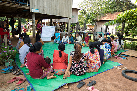 Reflect Circle Small Groups in Cambodia