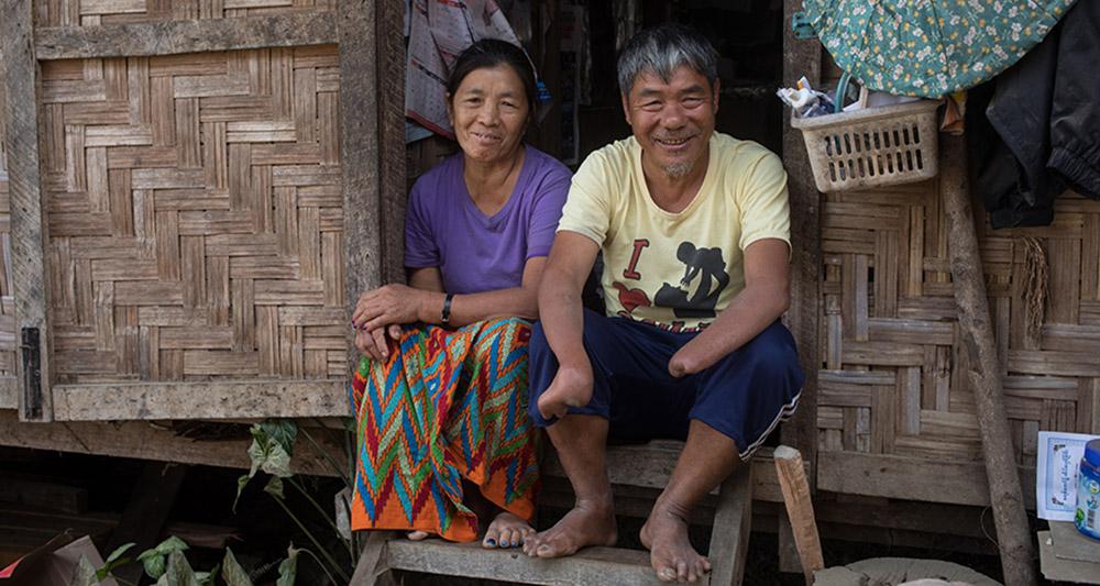IDP Couple in Myanmar