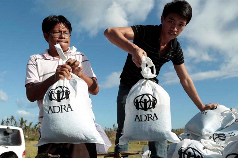 Emergency Distribution after Typhoon Haiyan