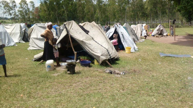 Tent Shelters for Flood Victims in Kenya